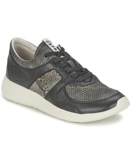 Cloudy Lace Up Women's Shoes (trainers) In Black