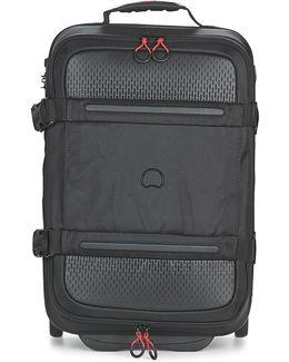 Montsouris 55cm Men's Soft Suitcase In Black
