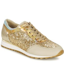 Diaspro Women's Shoes (trainers) In Gold