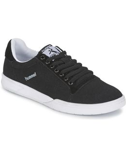 Hml Stadil Canvas Lo Women's Shoes (trainers) In Black