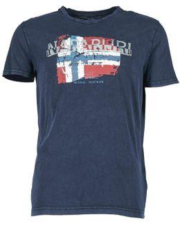 Slood Crew Men's T Shirt In Blue