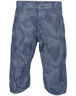Arc 3d Tapered 1/3 Men's Shorts In Blue