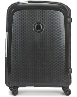 Belfort Plus 4r Slim 55cm Men's Hard Suitcase In Black