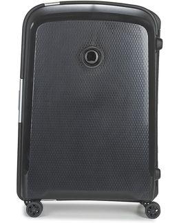 Belfort Plus 4r 70cm Men's Hard Suitcase In Black