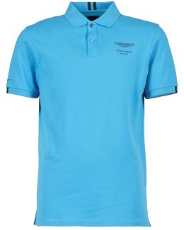 Jacq Bk Clr Men's Polo Shirt In Blue