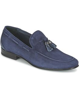 7775 Men's Loafers / Casual Shoes In Blue