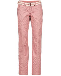 Carago Women's Trousers In Pink