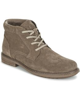 Brock Men's Mid Boots In Grey