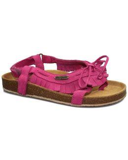 Tassel Women's Sandals In Pink