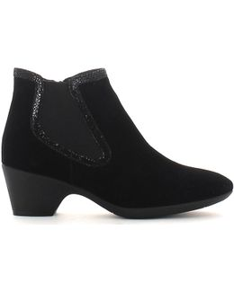 103083 Ankle Boots Women Women's Mid Boots In Black