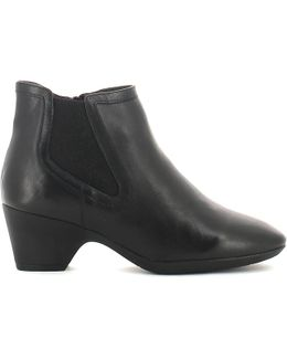 103084 Ankle Boots Women Women's Mid Boots In Black