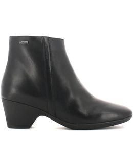 103099 Ankle Boots Women Women's Mid Boots In Black