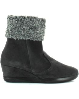 103324 Ankle Boots Women Storm Women's Mid Boots In Grey