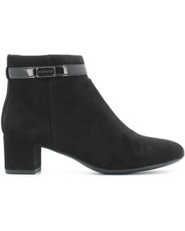 105103 Ankle Boots Women Women's Low Boots In Black