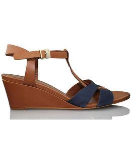 Nut Women's Sandals In Blue