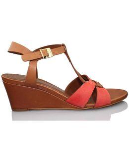 Nut Women's Sandals In Red