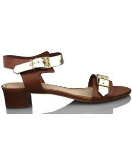 Rebeca Nut Women's Sandals In Brown