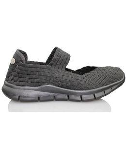 Charm Black A Women's Shoes (pumps / Ballerinas) In Black