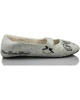Go Home Comfortable Women's Slippers In Grey