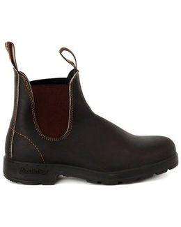 500 Classic Brown Men's Mid Boots In Multicolour