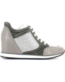 2759 M08 Sneakers Women Women's Shoes (high-top Trainers) In Grey