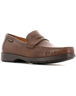 P5112526 Mocassins Man Brown Men's Loafers / Casual Shoes In Brown