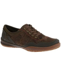 Albany Lace Womens Casual Sports Shoes Women's Casual Shoes In Brown