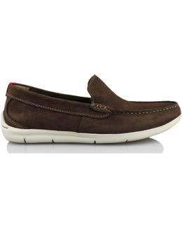 Karlock Lane Men's Loafers / Casual Shoes In Brown