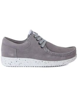 Nature Anna Grey Women's Casual Shoes In Multicolour