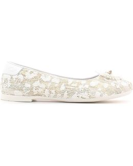Gk21903g Ballet Pumps Kid Women's Shoes (pumps / Ballerinas) In White