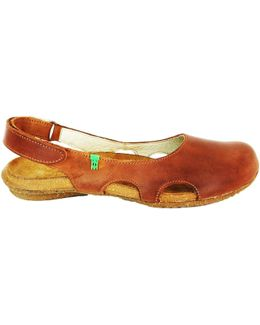 N413 Women's Sandals In Brown