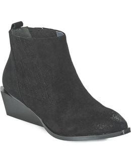 West Women's Low Boots In Black