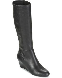 Venere B Women's High Boots In Black