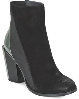 Tetra Hi Women's Low Ankle Boots In Black