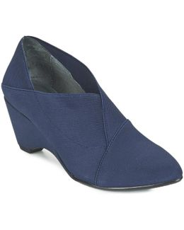 Origami Mid Women's Low Boots In Blue