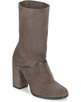 Camila Women's High Boots In Brown