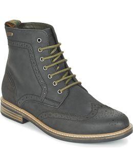 Belsay Men's Mid Boots In Black