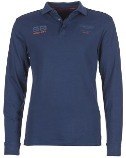 Malaxo Men's Polo Shirt In Blue