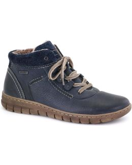 Steffi 13 Womens Casual Boots Women's Shoes (high-top Trainers) In Blue