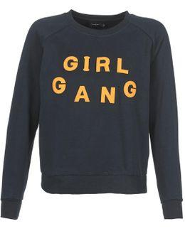 Girl Jp Women's Sweatshirt In Blue