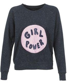 Girl Patch Jp Women's Sweatshirt In Blue