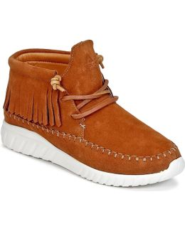 Apache Women's Shoes (high-top Trainers) In Brown