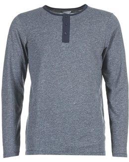 Pulse Core Men's Long Sleeve T-shirt In Blue