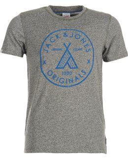 Fuji Originals Men's T Shirt In Grey