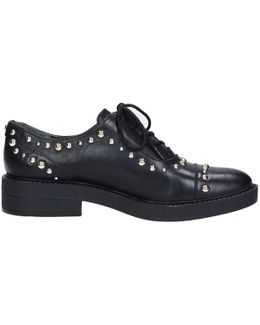 Flver4 Lea13 Lace-ups Women's Casual Shoes In Black