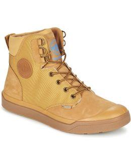 Pallarue Wp Men's Mid Boots In Yellow