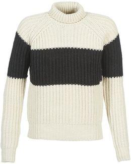 Laula Turtle Knit Women's Sweater In Beige
