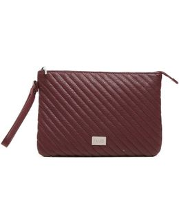 A66034e0012 Pochette Accessories Red Women's Clutch Bag In Red