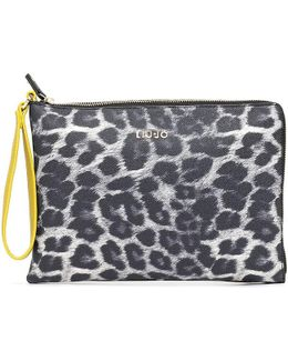 A66084e0043 Pochette Accessories Women's Clutch Bag In Yellow