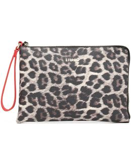 A66084e0043 Pochette Accessories Women's Clutch Bag In Red